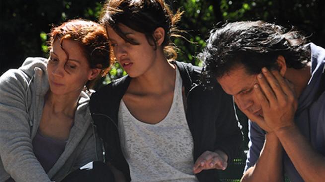 Imagen de la película colombiana Mañana a esta hora