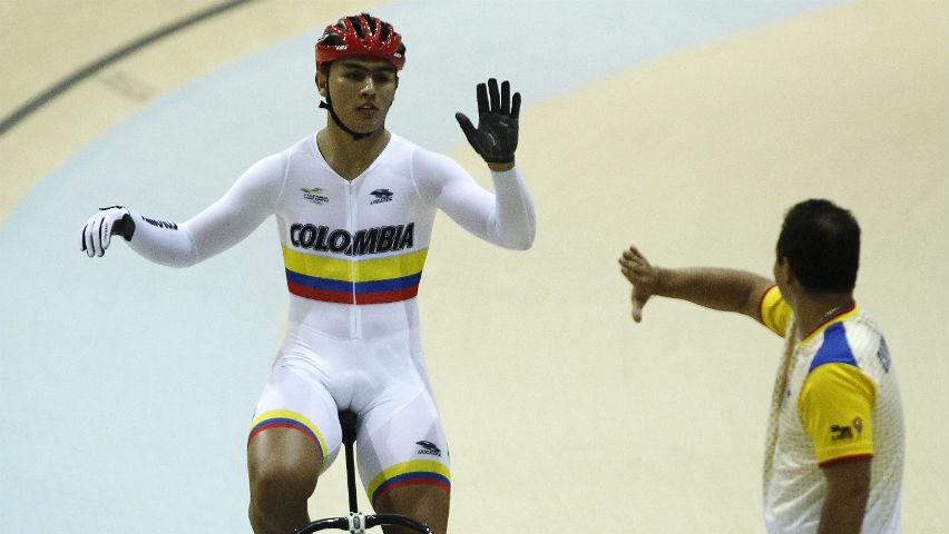Fabián Puerta, ciclista colombiano / EFE