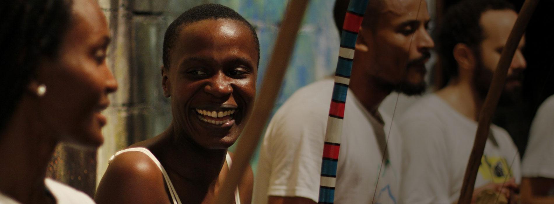 Fotograma del documental Capoeira a dos manos.