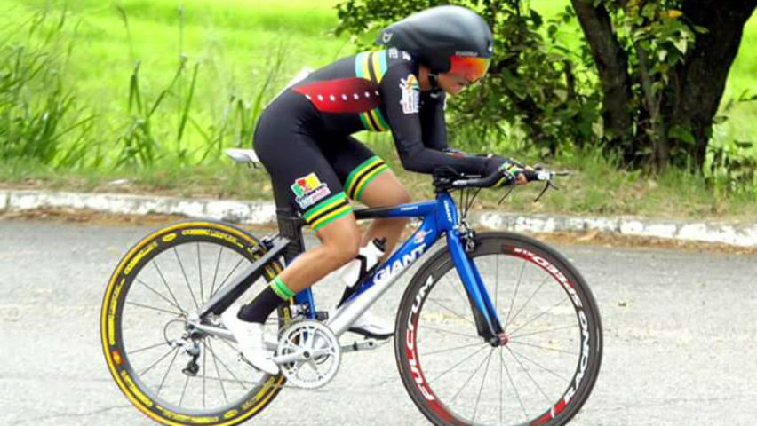 Ana Cristina Sanabria, ciclista colombiana / Cortesía Vanguardia Liberal
