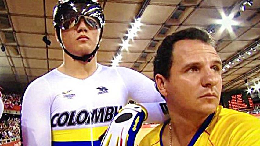 Jhon Jaime González, seleccionador nacional de pista / Federación Colombiana de Ciclismo