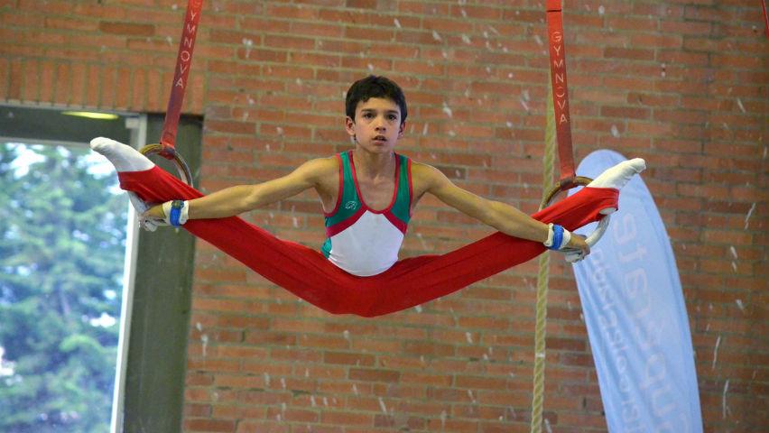 Sergio Vargas sigue los pasos de Jossimar Calvo en la gimnasia / Comité Olímpico Colombiano