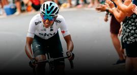 Egan, el fenómeno del ciclismo colombiano