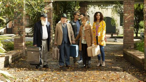 Foto fija del elenco de 'La de Troya'