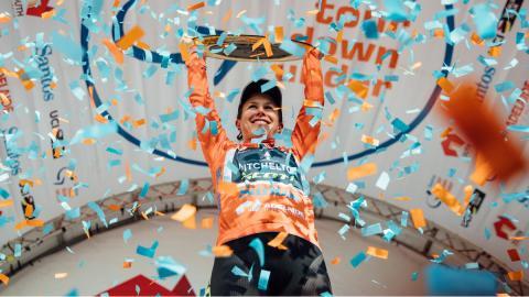 La australiana Amanda Spratt es la vigente campeona del Santor Tour Down Under para mujeres.