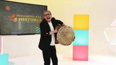 Fabio Rubiano presenta 4 preguntas a la historia