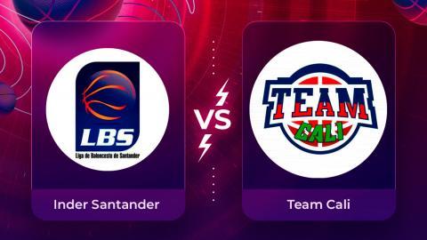 Mira en vivo el partido Inder Santander vs Team Cali por la Liga Superior de Baloncesto Femenino 2020