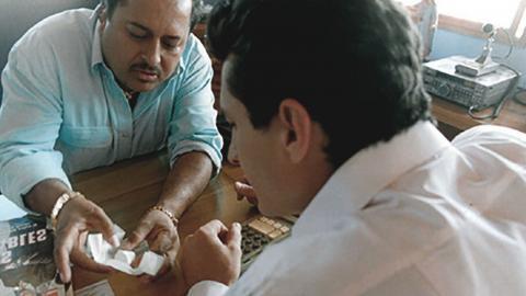 Foto fija de la película 'Sumas y restas'