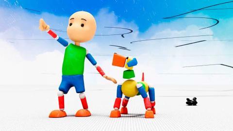 Basic serie infantil multiplataforma arte