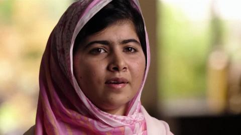 Malala Yousafzai, protagonista del documental 'Él me llamó Malala'