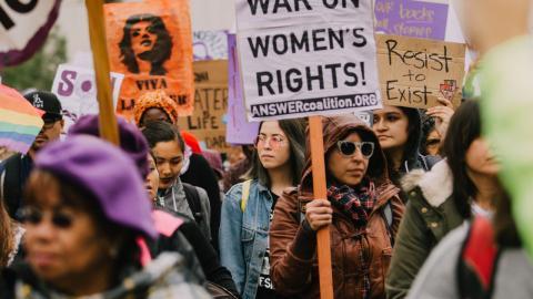 Protesta mujeres