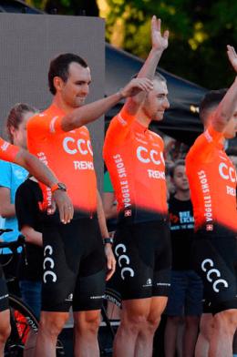 ¿Qué cambios hubo en los equipos World Tour para 2019? / CCC team