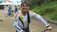 Andrea Escobar, tras los pasos de Mariana Pajón / Comité Olímpico Colombiano