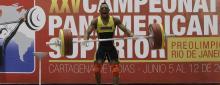 Andrés Mauricio Caicedo, pesista vallecaucano.