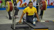 Pesista paralímpico Andrés Mauricio Salazar / Comité Paralímpico Colombiano