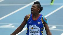 Anthony Zambrano, atleta colombiano / Federación colombiana de atletismo
