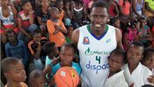 Édgar Moreno, jugador de baloncesto