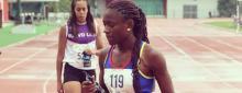 "Evelyn Rivera, la ""hija del viento"" colombiana / Liga de Antioquia"