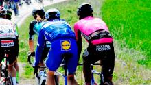 Jhonatan Restrepo, tercero en la etapa 2 del Tour de Turquía / Facebook Tour de Turquía