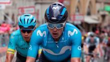 Carlos Betancur, pedalista del Movistar Team / Iraia Calvo