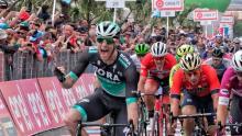 Sam Bennet, ganador de la etapa 7 del Giro de Italia / Iraia Calvo