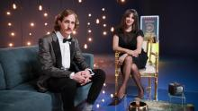 Diana Rico y Ernesto Vientos presentadores de Cine Club En Cine Nos Vemos