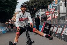 Fernando Gaviria, corredor colombiano / Instagram oficial UAE Team Emirates