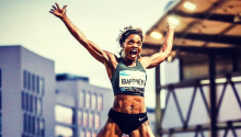 Caterine Ibargüen, atleta colombiana / Instagram oficial Caterine Ibargüen
