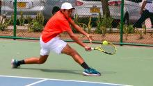 Así avanza la J1 'Copa Barranquilla' de tenis