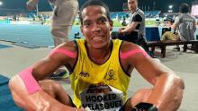 El vallecaucano Dixon Hooker es una de las figuras más prominentes del atletismo Paranacional colombiano.