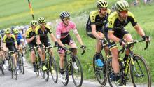Simon Yates, líder del Giro de Italia