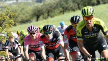 Dennis durante la cuarta etapa del Giro de Italia