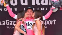 Chris Froome, campeón virtual del Giro de Italia / Giro oficial
