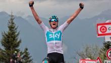 Chris Froome, ganador etapa 14 del Giro de Italia / Iria Calvo