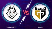 Mira en vivo y online G2 Esports Vs. Gen.G en el Worlds 2020
