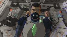 Personajes de la serie de ciencia ficción de Señal Colombia, Gravedad 1.