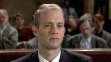 """Tom Hanks en """"Filadelfia"""" (1993)"""