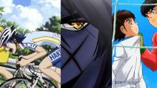 Personajes de algunas de las series de animé más populares.