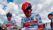 Juan Sebastián Molano empezó en el ciclismo gracias a su padre / Instagram Sebastián Molano