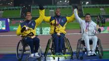 Mauricio Valencia se prepara para ganar oro en los Juegos Paralímpicos de Tokio 2020.