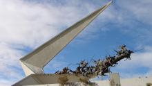 Monumento a los Lanceros del Pantano de Vargas. Foto: Wikimedia Commons