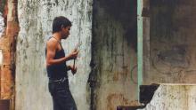 Ramiro Meneses en la película Rodrigo D no futuro