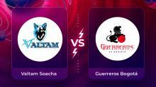 Mira en vivo el partido Valtam Soacha Vs. Guerreros Bogotá por la Liga Superior de Baloncesto Femenino 2020