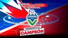 Visionarios F.S.C es el campeón de la Superliga Masculina de Microfútbol 2020