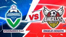 Mira en vivo el duelo entre Visionarios F.S.C Vs. Ángeles Bogotá  por la Superliga de Microfútbol 2020