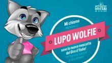 Lobo Wolfie, mascota oficial del Giro de Italia
