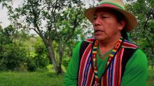 Personaje del Documental 'Yu' Luuçx, hijos del agua', por Señal Colombia