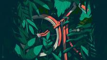 Fondo de pantalla - Día de la bicicleta