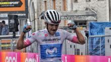 Richard Carapaz, ganador de la etapa 8 del Giro de Italia / Iraia Calvo