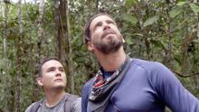 Chefor y Ricky, dos de los protagonistas de Cruzando el Amazonas.